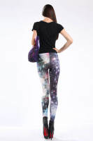 Multicolored Fancy Galaxy Leggings L8717