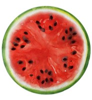 The Round Watermelon Beach Towel L38354