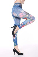 Fashion Girl Print Sexy Seamless Leggings L97032-2