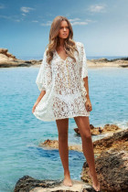 Sexy V Neck Beach Kaftan Dress L38217