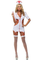 Adult Cut-Out Nurse Costume L1307