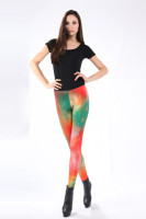 Multicolored Fancy Galaxy Leggings L8720
