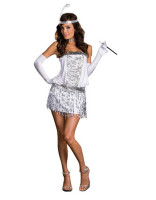 Sequin Flapper Girl Costume L1234