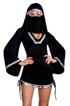 Sexy Middle Eastern Arab Girl Burka Costume 1308