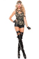 Sexy Special Forces Costume L15368