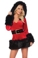 Short Mini Christmas Adult Costume L70925