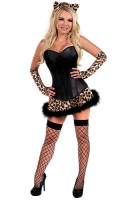 Lavish Naughty Leopard Costume L15333