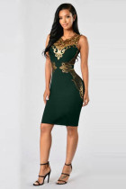Plus Size Sleeveless Party Dress L36139-3