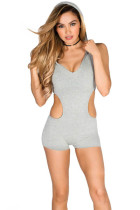 V-Neck Sports Rompers L55215-1