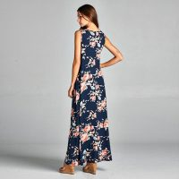 High Low Floral Maxi Dress 51417-2