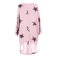 Quirky Batwing Long Sleeve Star Print Tunic Jumper Dress 28238-2