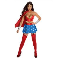 Wonder Woman Corset Costume L1047