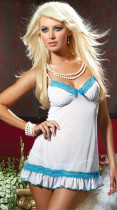 Romance Chemise And Thong L2455