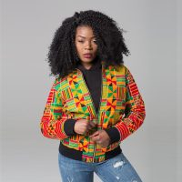 Dashiki Printed Long Sleeve Jacket