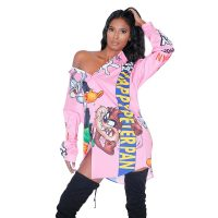 Pink Looney Button Up