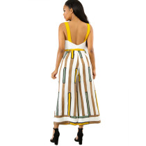 Mustard Seed Wide Legges Straps Jumpsuit