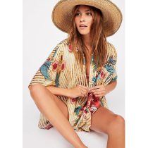 Women's Beach Blossom Printed Cover-up