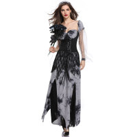 Zombie Ghost Vampire Bride Roleplay Cosplay Uniform