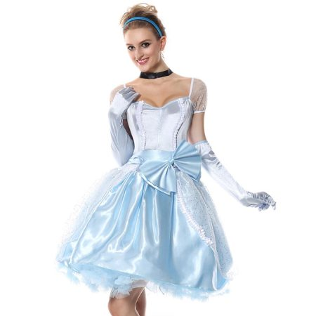 Deluxe Cinderella Dress-up Costume for Adult Women