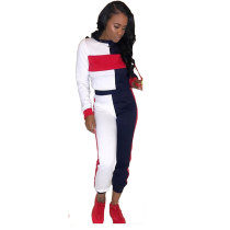 Woman Two Piece Casual Joggers Suit