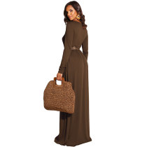 Autumn Comfy Casual Maxi Dress