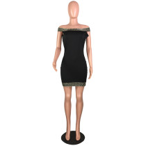 Women Strapless Bodycon Dress