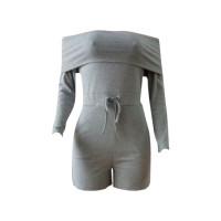 Casual Off The Shoulder Bodysuit