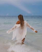 Casual Wrinkle Beach Shirt