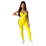 Summer Vest Bodysuit and Pants Set