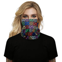 (Non-protection) Face Mask and Neck Warmer with Dust and Sun UV Protection