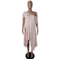 Summer Loose Irregular Dress