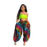 Casual Printed Loose Pants