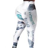 USD Print Yoga Trousers