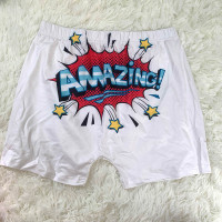 Casual Pattern Printed Yoga Shorts