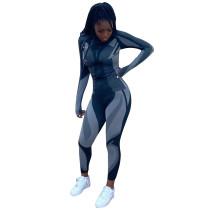 Casual Positioning Print Sportswear Pant Set