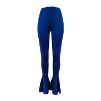 Casual Stretch Ruffle Flared Pants