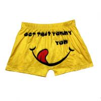 Skinny Pattern Printed Yoga Shorts