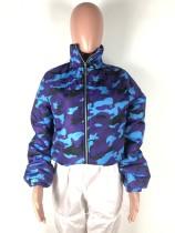 Winter Coat Camouflage Jacket