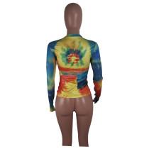 Human Avatar Graffiti T-shirt Top