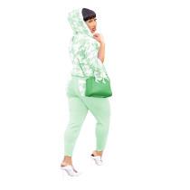 Casual Hoodie Sweatshirt Pant Set