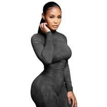 Casual Breathable Mesh Sports Jumpsuit