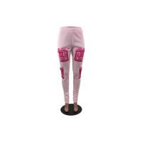 Casual Printed Pants
