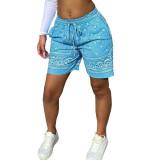 Print Hip-hop Shorts