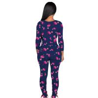 Sexy Homewear Printed Jumpsuit