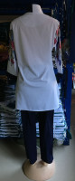 African Buckle Print Plus Size Pant Set