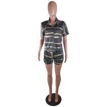 Summer Printed Loungewear Short Pajamas