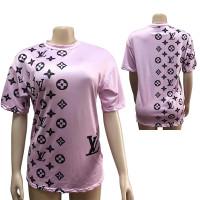 Casual Streetwear Print Letter T-shirt