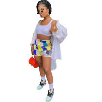 Casual Printed Beach Shorts
