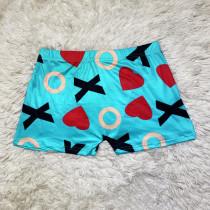 Women's Tight Shorts Pattern Printed Yoga Pants