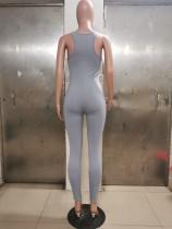 Solid Color Camisole Yoga Jumpsuit